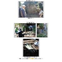 竹の切り出し、竹細工