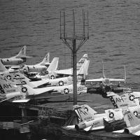 1969-08-10 Sasebo  USS Tico CVA-14
