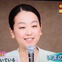 爽やかな笑顔ー浅田真央さん