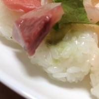 小さいサイズのお寿司