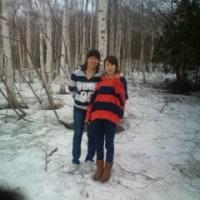恩原高原にある恩原湖 2013.03.17 「2013携帯」