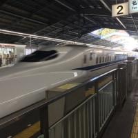 JR新幹線・新神戸発「のぞみ24号」京都着