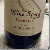Wine Spots Carneros 2013 Pinot Noir