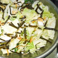 白菜と大根の浅漬け/マグロの過食 妊娠中は気をつけたい