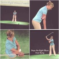 ゴルフスイング体操(R)の片腕素振り