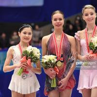 グランプリシリーズ日本大会(NHK杯)女子のごく一部