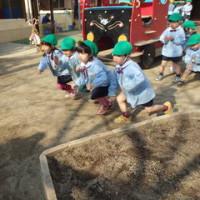 みどり 4歳児 室内遊び・園庭サーキット