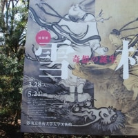 博物館浴(東京藝術大学美術館 「雪村 ~奇想の誕生~」)