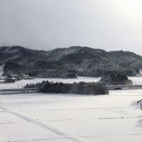 雪原を望む N700系
