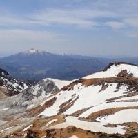 残雪の安達太良山 鉄山 登山 2017年5月4日