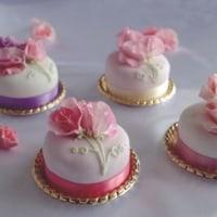 スイートピーのケーキを作ろう♪