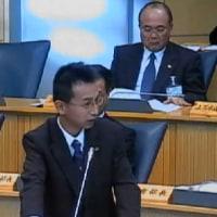 予算に対する総括質疑での写真をUP‐太田市3月議会