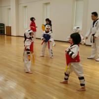 鎌ケ谷テコンドークラブ、1月14日(土)の練習模様♪♪