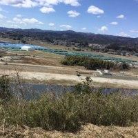 津波に襲われた楢葉町5年たった今は原発の廃棄物で
