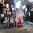 本日は生まれて初めて河堀稲生神社(こぼれいなりじんじゃ)の夏祭りに。おみくじは50番吉。おみくじ(100円)をひくとうちわがもらえました。