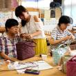 織音(オリオン)のクラフトテープの籠作り教室    竹島クラフトセンター
