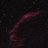 【はくちょう座】 NGC6992 数光年の煙
