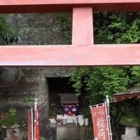 阿仏尼墓と智岸寺稲荷