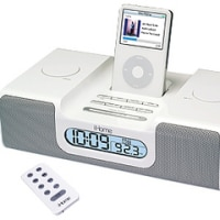 iHome iH5R Speakers for iPod(ホワイト)