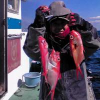 金目鯛冬の潮に慣れた・マルイカ・ヤリイカ冬の潮に慣れる⇒浅場⇒面白くなる