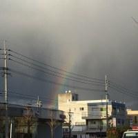 すさんだ心に架かる「虹」・・・ unexpected the rainbow.....