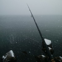 今年ラストの鮭釣りへ~長万部川河口