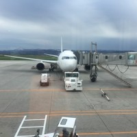 5月中旬、旭川空港へマイルー3日目②