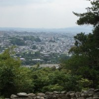 朝日山観音堂 へ            170624
