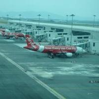KLIA2空港の「水」はどこにあるの?そして「水飲み場」事件簿。「日本一時帰国」記録開始。まずはエアアジアに乗る。