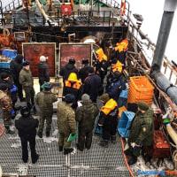 サハリンの漁業者は当局による恣意的で延々と続く検査に不満を訴える