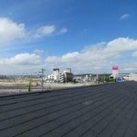 屋根から見える風景