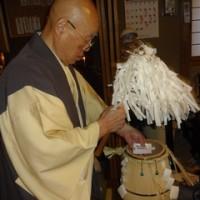 明日は、当山の神道の月次祭が執り行なわれます。