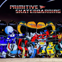 サンディエゴ・コミック-コン限定「プリミティブ スケートボーディング オプティマス・プライム」Special Edition Primitive Skateboarding Optimus Prime