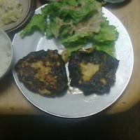 昨日は「手作りハンバーグ」を食べました!!