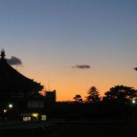 南円堂~夕景