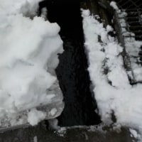 寒波が去って雪も落ち着く