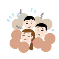 満員電車での通勤・通学がストレス!!!