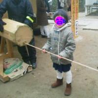 日本一デカイおみくじ?