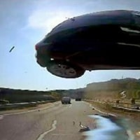 東名高速の事故