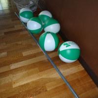 ビーチボールバレーという高齢者向けのスポーツがあるのです