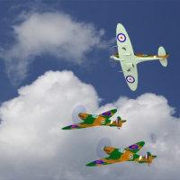 イギリス空軍Supermarine Spitfire MkV をアップします!