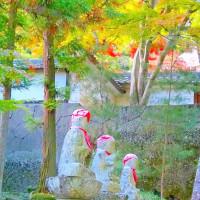 秋の信濃路・・・千曲市稲荷山野・・・龍洞院