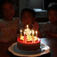 8才の誕生日