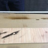 エバーアートボード 落書きスプレー 耐久試験