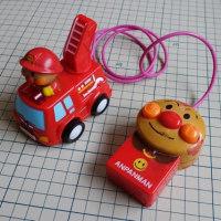 おもちゃの修理(アンパンの消防車/コードリモコン付き)