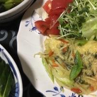 アスパラとジャガイモのチーズ焼き