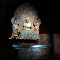 法隆寺 再現 釈迦三尊像展