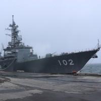 練習艦隊 小樽来港