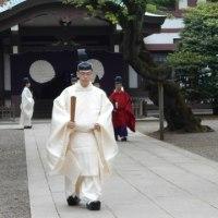 靖国神社の春季例大祭での勅使さま