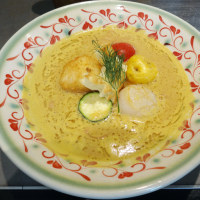 Weekendの麺処巡り ソラノイロ で 天塩の渡り蟹・ビスク麺